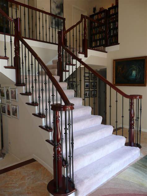 wrought iron traditional staircase san francisco