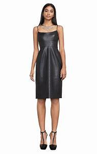 Faux Leather Dresses