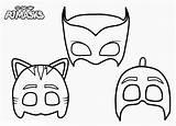 Pj Masks Coloring Catboy Printable Super Colorare Mask Maschere Pigiamini Cat Dibujos Maschera Stampare Disegni Carnevale Mascaras Dei Mascherine Gufetta sketch template