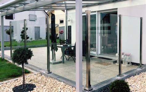 terrassen windschutz glas windschutz terrasse panther glas ag