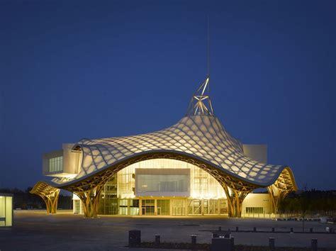 pompidou metz centre shigeru ban architect france architects roof tourisme bamboo nuit architecture tokyo inspired lattice musica arte hat experience