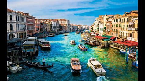 Most Beautiful City In The World Venice Italy Youtube