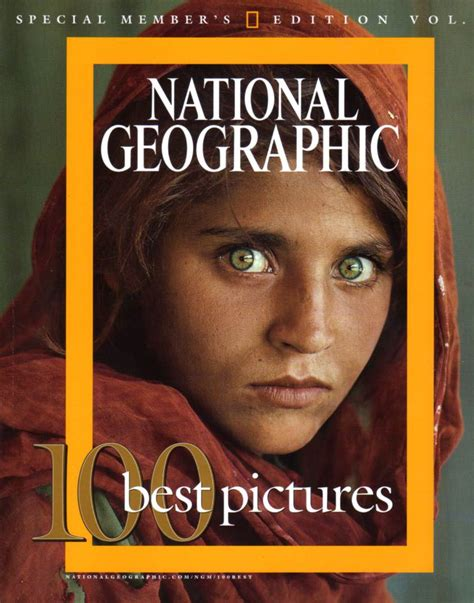 1985 The Afghan Girl (the National Geographic) The
