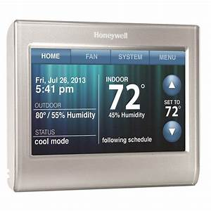 Honeywell Wifi Smart Thermostat With Full Color Display