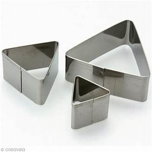 Emporte Piece Inox : emporte pi ce inox triangle x 3 emporte pi ce modelage creavea ~ Teatrodelosmanantiales.com Idées de Décoration