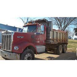 kenworth tandem dump truck 1977 kenworth tandem axle dump truck