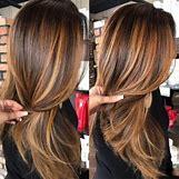 Dark Brown Hair With Caramel Highlights | 500 x 500 jpeg 48kB