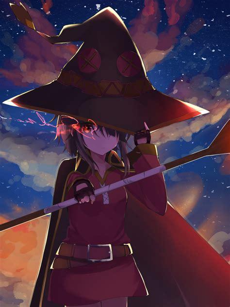 Megumin Animated Wallpaper - 768x1024 anime konosuba god s blessing on this