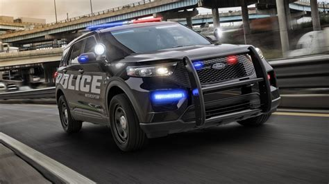 fords latest police car   hybrid suv top gear