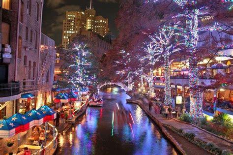 san antonio riverwalk christmas lights san antonio