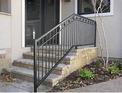 Outdoor Metal Handrails For Stairs by Custom Wrought Iron Handrails Dallas Fort Worth Arlington Hardy Fence