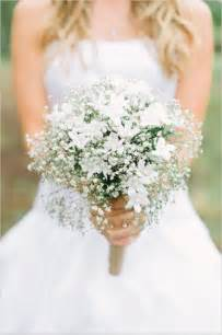 bridesmaids bouquets wedding flowers 40 ideas to use baby s breath