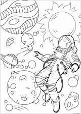 Coloring Galaxy Adults Astronaut Colorare Space Disegni Printable Astronaute Colorear Coloriage Adulti Sheets Float Inclassables Apesanteur Coloriages Difficiles Adult Inclasificable sketch template
