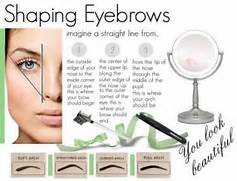 Perfect eyebrow shape diagram how to shave and shape your eyebrows using razor video tutorial perfect eyebrow shape diagram ccuart Gallery