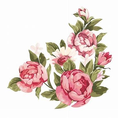 Border Flower Flowers Clipart Romantic Rose Frame