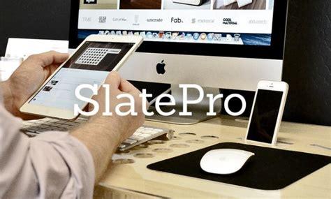 bureau apple bureau minimaliste pour votre ordinateur tablette et