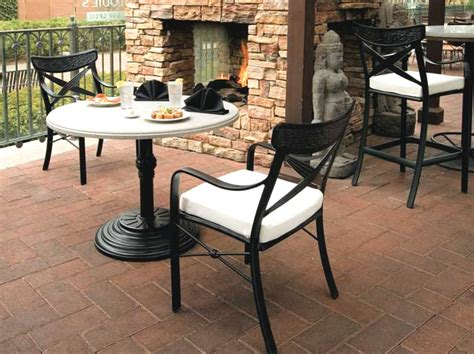 chimaya cast aluminum patio outdoor furniture tropitone