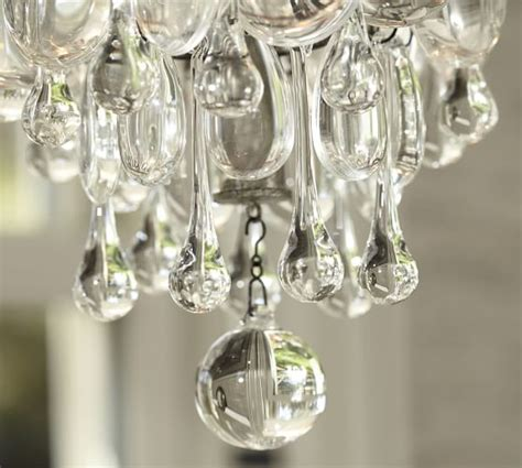 clarissa drop small chandelier pottery barn