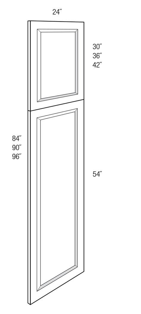 WPDEC96: Tall Decorative End Panel: Kingston RTA Kitchen