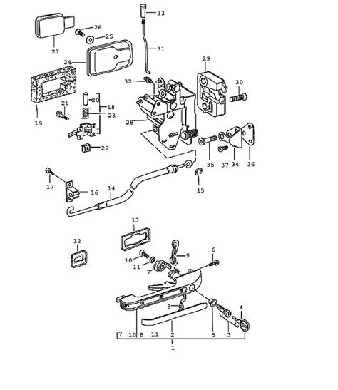 Car Latch Diagram by Car Door Lock Parts Diagram Automotive Parts Diagram Images