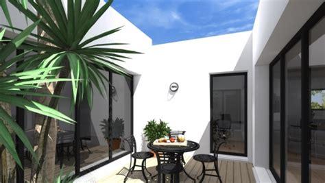 devis cuisine gratuit maison contemporaine avec patio