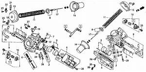 Jet Kits How To    Carburetor Diagrams    Honda Vf700c
