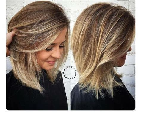 Best 25+ Thick Medium Hair Ideas On Pinterest