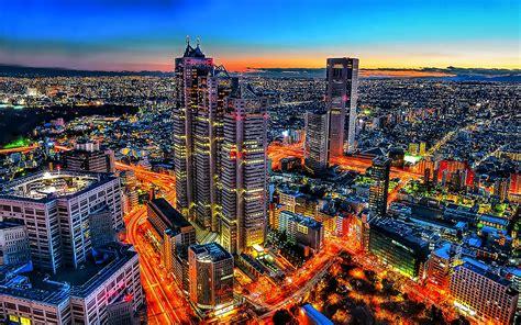 tokyo, , Shinjuku, , Cityscape, , Night, , Urban ...