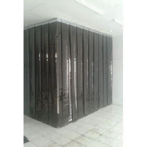 jual tirai plastik pvc opaque black tirai plastik pvc hitam harga murah jakarta oleh toko jaya