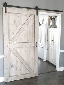 Barn, Door, -, Gray, Wash, -, Sliding, 2, Panel, Z, Style