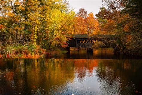 boston  england fall foliage september