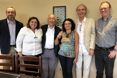 Grupo que recebeu Eliana Sousa Silva em visita ao IEA - 28 ...