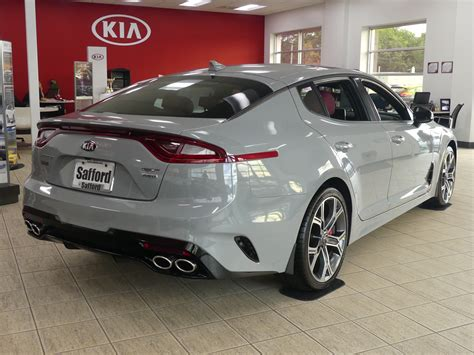 2019 Kia Stinger Gt2 by New 2019 Kia Stinger Gt2 4dr Car In Salisbury K6046300