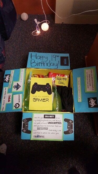 gamer care package diy birthday gifts birthday gifts