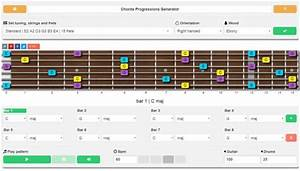 Chord Progression Generator For Guitar