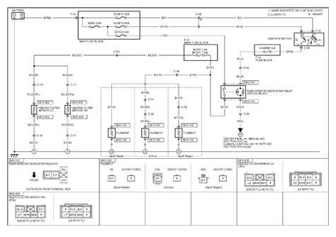 ford f150 power sliding rear window defrost wiring diagram