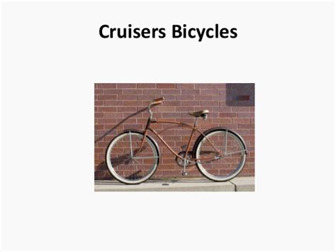 List Of All Bicycle Types