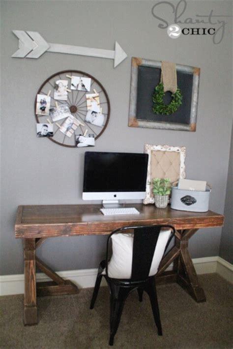 plans to build a desk diy trestle desk free plans rogue engineer