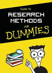 Guide To  Research Methods For Dummies By Hammad