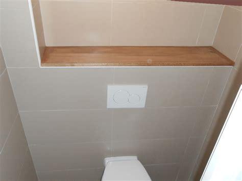 poser du carrelage toilette suspendu