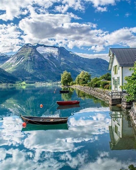 Oppstryn Norway In 2019 Norway Travel Beautiful