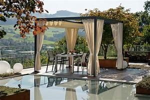 gartenpavillons aus stahl ab lager verfugbar With französischer balkon mit pavillon glas garten