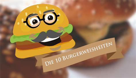 Die 10 Besten Burger-weisheiten