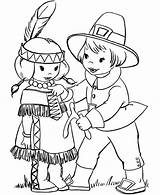 Coloring Pilgrim Pilgrims Pages Thanksgiving Indian Printable Boy Native Sheets Giving Sheet Wishbone Indians American Turkey Americans Colouring Fall Printables sketch template