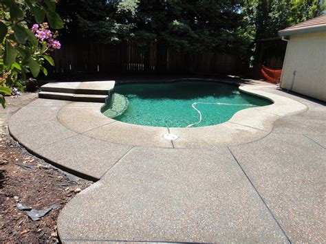 resurface aggregate pool deck exposed aggregate concrete pool deck pictures