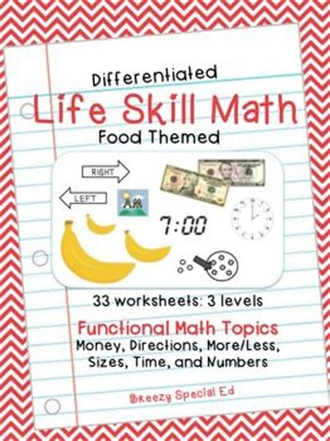 math worksheets for special education students cialiswow