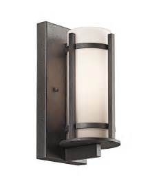 kichler 49119 camden 1 light outdoor wall light capitol
