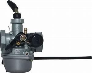 Carburetor - 19mm  Manual Choke  Left Hand Choke