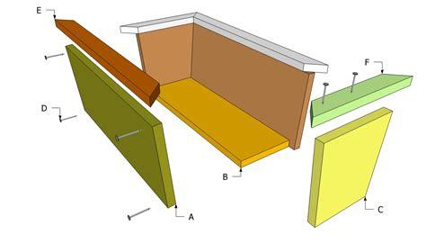 diy flower box plans plans diy   cedar trellis
