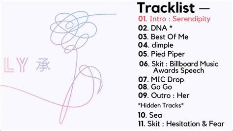 Full Album + Hidden Tracks방탄소년단 BTS Love Yourself 承 Her